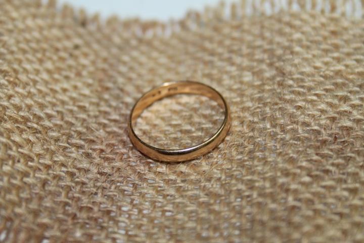 Кольцо обручальное р 16-17 Золото 585 1,64 гр 2007