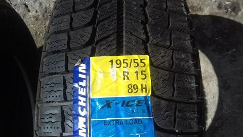 195 55 R15 89H Michelin X-Ice Xi3 Spain 2312