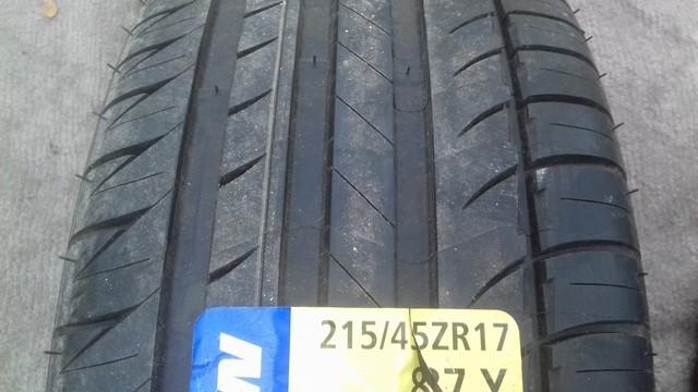 215 45 ZR17 87Y Michelin Pilot Exalto PE2 240 A A France
