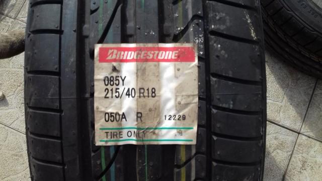 215 40 R18 85Y Bridgestone Potenza RE050A RunFlat RSC 140 A A Japan 4511
