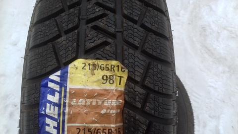 215 65 R16 98T Michelin Latitude Alpin France 4008