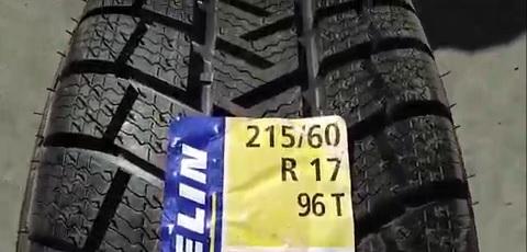 215 60 R17 96T Michelin Latitude Alpin France 2711