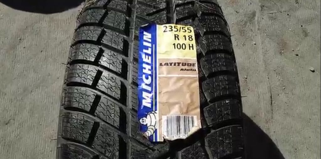 235 55 R18 100H Michelin Latitude Alpin Hungary 2411